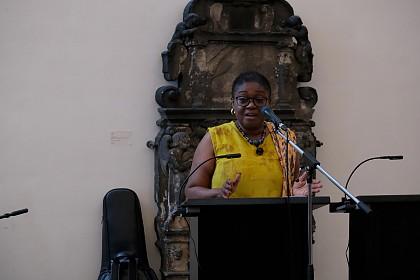 Cecilia Biritwum, Vorsitzende der Ghana Union Kassel e. V.