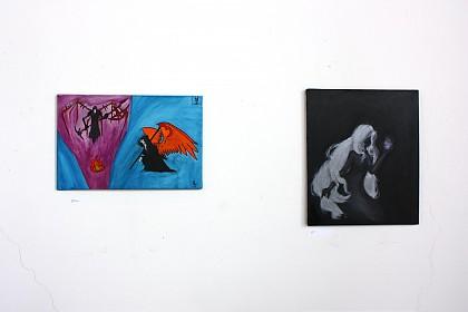 Malereien der Schüler*innen