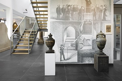 Ausstellungsbereich zur Feuerbestattung (in Deutschland)